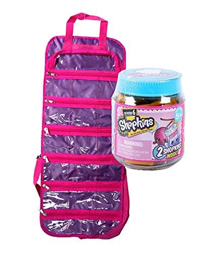 Toy Organizer Bag With Bonus Shopkins Season 6 Chefs Club Jar