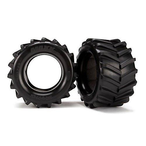 Traxxas 6770 Tires Maxx 28 w Foam Inserts 2ST 4x4