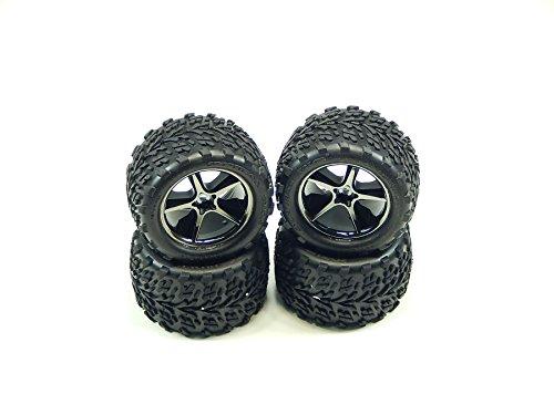Traxxas 7174A 116 Scale Talon Tires Pre-Glued on Gemini Wheels pair