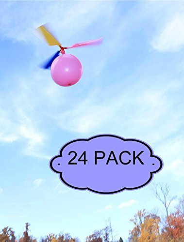 Kids Balloon Helicopter Party Favor Toy Balloon Powered Helicopter Toy - by BLUR ROCK PRO