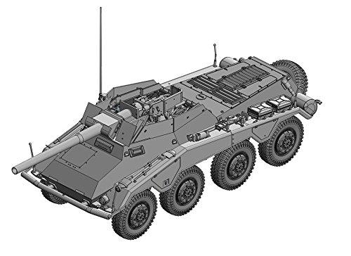 Dragon Models SdKfz2344 Mit 75cm L48 Model Kit 135 Scale