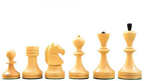 Chessbazaar Alban Series Wooden Chess Pieces in Sheesham Box Wood - 40 King