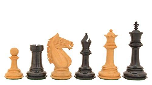Chessbazaar The Staunton Series Mid Range Wooden Chess Pieces In Ebony Box Wood