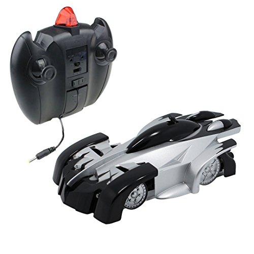 Novias Fun Infrared Remote Control RC Wall Climbing Climber Model Car Rocket Racer Electric Toy CarBlack
