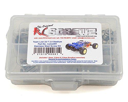 RC Screwz Team Losi 22T 20 Stainless Screw Kit