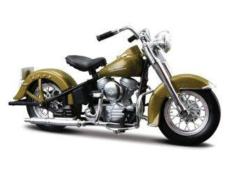 Harley Davidson Hydra Glide 74FL 2053 Diecast Model Motorcycle Kit