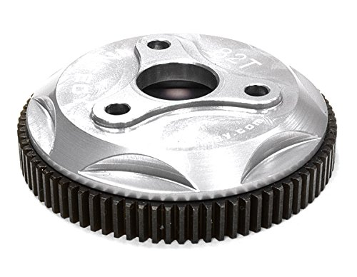 Integy RC Hobby T8028SILVER 82T Metal Spur Gear for Traxxas 110 Electric Stampede 2WD Rustler Slash 2WD