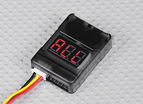 DJI Phantom 2 LiPo Battery Low Voltage Alarm Buzzer Tester Checker 1S-8S - FAST FREE SHIPPING FROM Orlando Florida USA