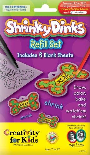 Faber-Castell Creativity For Kids Activity Kit Shrinky Dinks Refill Sheets