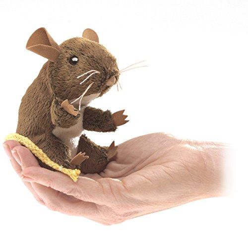 Folkmanis Mini Field Mouse Finger Puppet