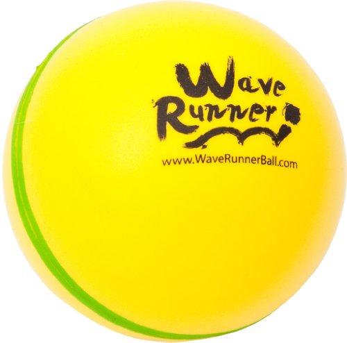 Throw It Bounce It Skip It Catch It WAVE RUNNER POOL BALL yellow