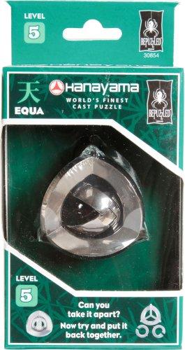 EQUA Hanayama Cast Metal Brain Teaser Puzzle Level 5