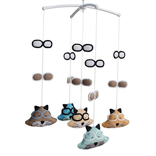 Cute Handmade Baby Crib Mobile Crib Hanging Bell Musical Toys