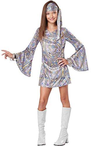 Mememall Fashion Dancing 70s Disco Darling Child Costume