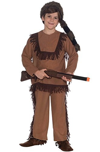 Mememall Fashion Davy Crockett Native American Indian Child Costume S