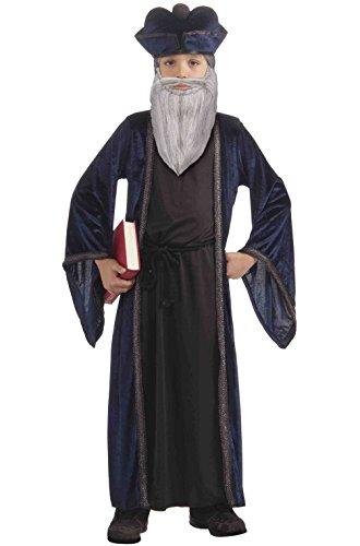 Mememall Fashion Famous Prophet Philosopher Nostradamus Child Costume S