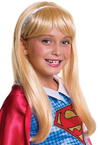 Rubies Costume Girls DC Super Hero Supergirl Wig