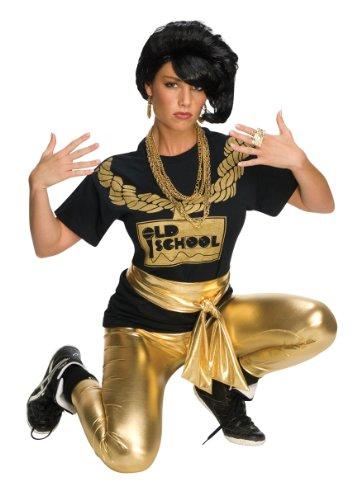 Rubies Costume Rap Girl Wig Black One Size