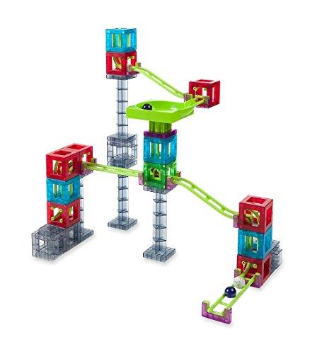 Qvolution Magnetic Cube 28pc Marble Run Construction Set
