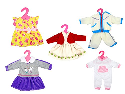 Brynhildr 5 Pack 13-18 inch Doll clothes