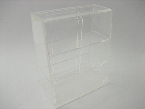 Clear Empty Acrylic Table Top Display Shop Dollhouse Miniature Supply 12158