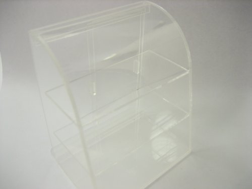 Clear Empty Acrylic Table Top Display Shop Dollhouse Miniatures Supply 9701