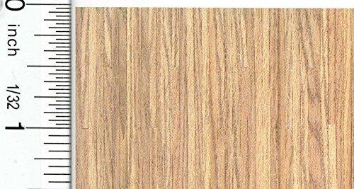 Dollhouse Flooring 148 Scale Light Oak Plank