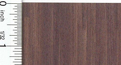 Dollhouse Flooring 148 Scale Walnut Plank