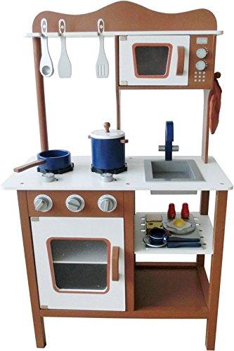 Espresso Modern Wooden Play Kitchen