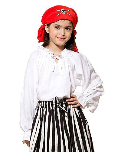 Childs Renaissance Medieval Costume Blouse Large 9-11 yrs