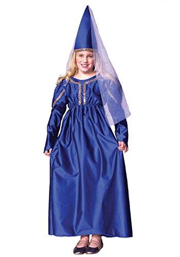 RG Costumes Girls 91066-V-L Medieval Princess Costume Purple Large 12-14