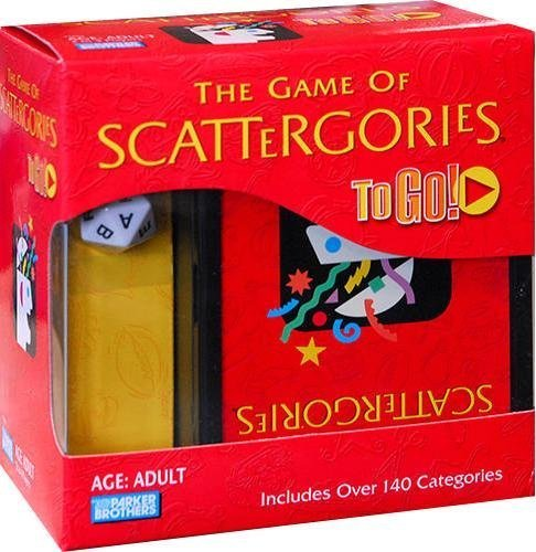Scattergories To Go by Parker Brothers