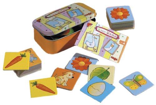 HABA Mini-Memo Card Game Board Game