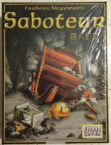 Vintage Saboteur Card Game Board Game