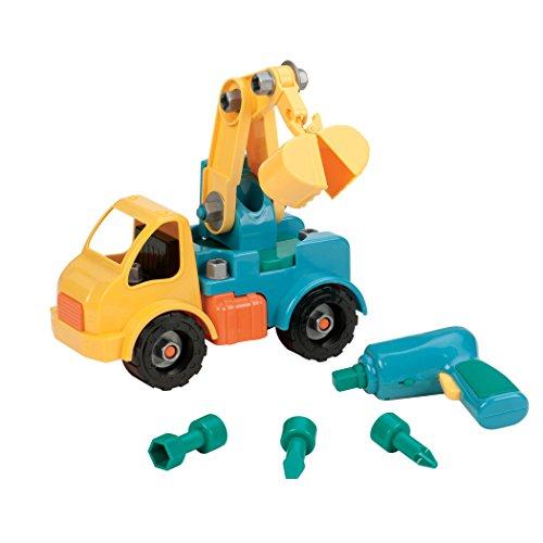 Battat Take-A-Part Toy Vehicles Crane Green