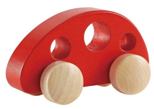 Hape - Early Explorer - Mini Van Wooden Toy Vehicle Red