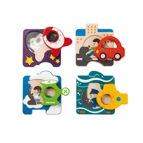 Plan Toys Vehicle Puzzle