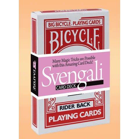 Jumbo Svengali Deck Bicycle Card Trick 1 per package