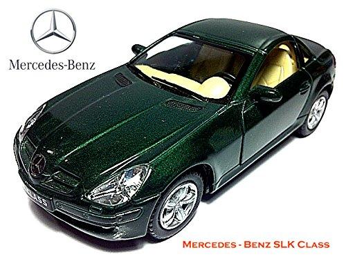 Diecast cars Mercedes-Benz SLK 132 Green Model Cars