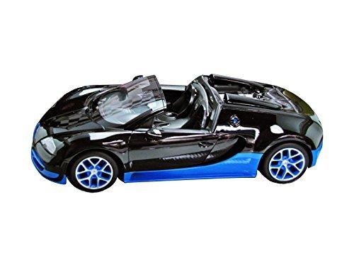 Radio Remote Control 114 Bugatti Veyron 164 Grand Sport Vitesse Licensed RC Model Car BlackBlue