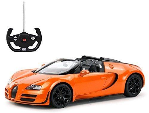 Radio Remote Control 114 Bugatti Veyron 164 Grand Sport Vitesse Licensed RC Model Car Orange