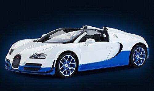 Radio Remote Control 114 Bugatti Veyron 164 Grand Sport Vitesse Licensed RC Model Car White