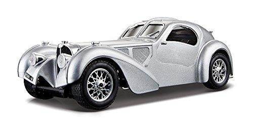 Bburago Bugatti Atlantic Diecast Model Car 124 Scale Black