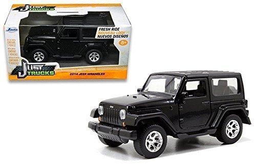 New 132 WB Just Trucks - 2014 Jeep Wrangler Diecast Model Car By Jada Toys