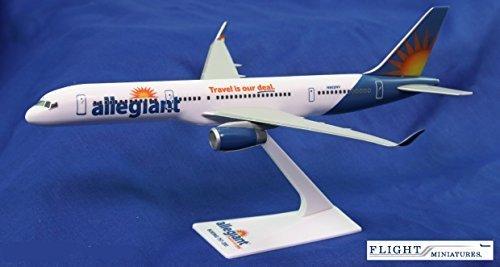 Allegiant Air 757-200 Airplane Miniature Model Plastic Snap-Fit 1200 Part ABO-75720H-059