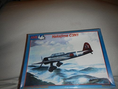 Nakajima C3N1 Plastic Model Airplane Building Kit
