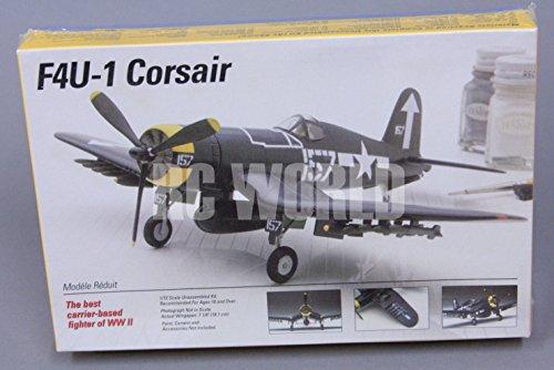 Qiyun Testors F4U 1 Corsair Plastic Model Airplane Kit 1 72 Scale SEALED O1
