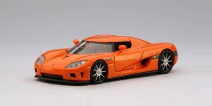 AUTOart 132 Scale Slot Car Koenigsegg CCX Orange 13201