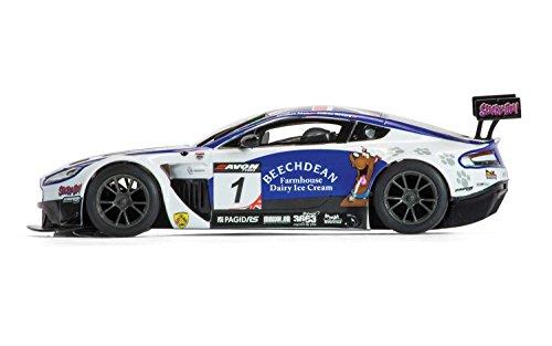 Scalextric C3623 Aston Martin Vantage GT3 Beechdean Slot Car 132 Scale