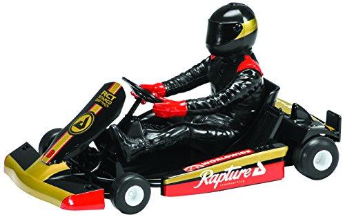 Scalextric Super Kart 1 Black 8 132nd Scale Slot Car